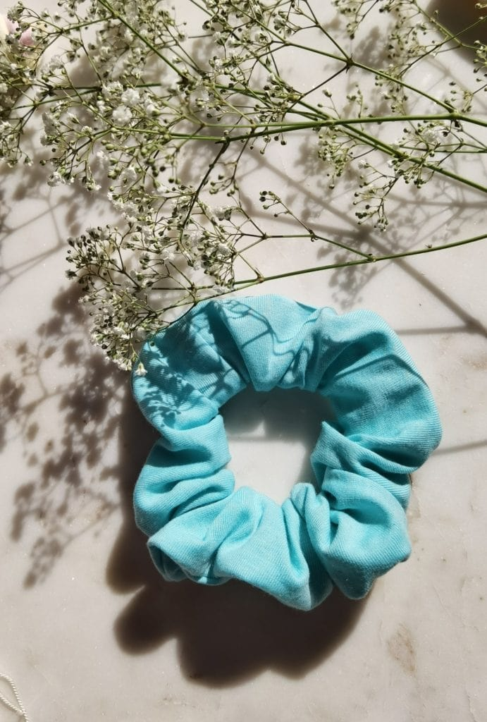 Bawełniana gumka  BLUE